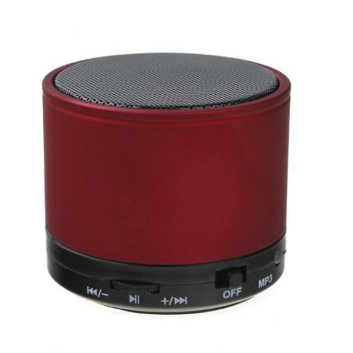 Mini Bluetooth Speaker with MP3 - Red