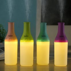 Mini Cool Air USB Humidifier Bottle - Green