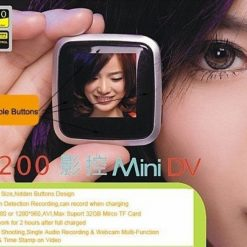 Mini Pocket Video Recorder With LCD Screen