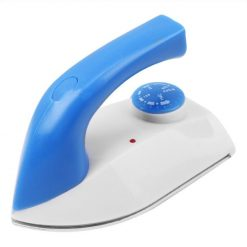 Mini Travel Iron with Temperature Control Function - Blue