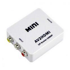 RCA AV CVBS to HDMI Upscaler Converter