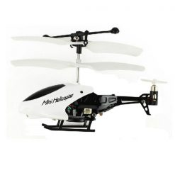 Mini Helicopter Remote Control - White