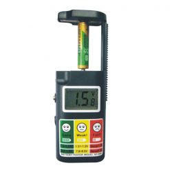 Digital Battery Tester With LCD Screen - Black