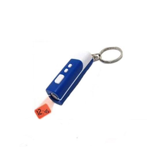 Mini LCD Projection Alarm Clock - Blue