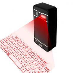 Mini Laser Virtual Bluetooth Keyboard - Black
