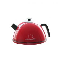 Mini Ultrasonic Supersonic Anion Kettle Humidifier - Red
