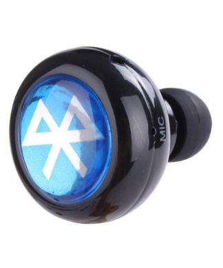 Mini Wireless Bluetooth Earphone Headset - Black