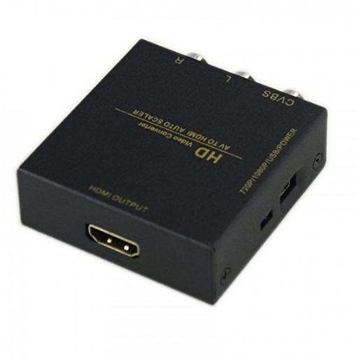 AV TO HDMI Video Upscaler Converter