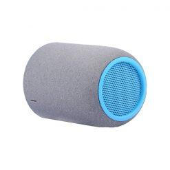 Mini Bluetooth Speaker With Case - Blue