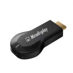 Miradisplay HDMI 1080P Miracast Airplay Wi-Fi Display Receiver Dongle - Black