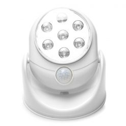 Motion Activated LED Spot Light - White