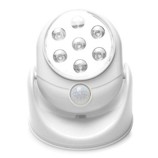 Motion Activated LED Spot Light - White