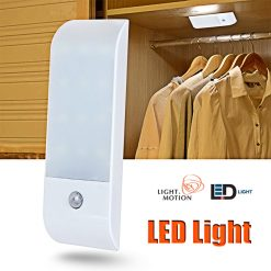 LED Motion Sensor Night Light - White