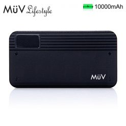 MϋV 10000mah Ultra Quick Charge Compact Powerbank - Black