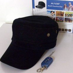 MultiFunction Cap With Video Recorder - Black