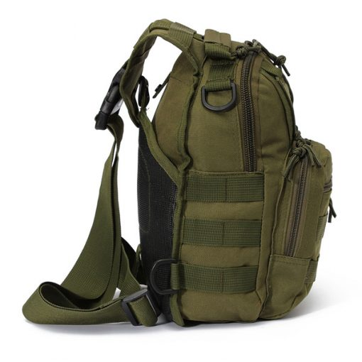 Multifunction Tactical Single Strap Body Bag - Green