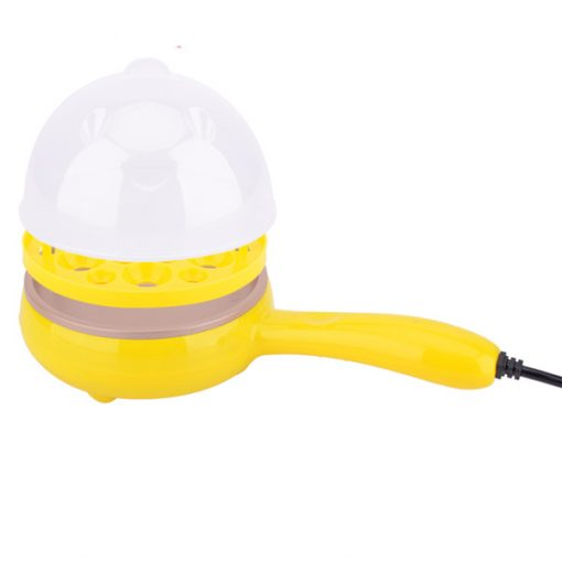 Multifunction Mini Electric frying Pan - Yellow