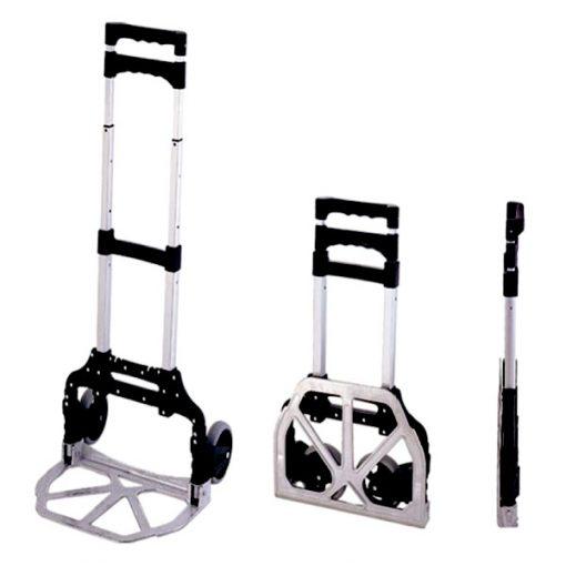 Foldable Steel Trolley - Gray