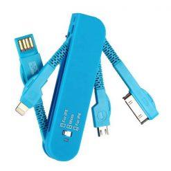 Multifunctional Charging Adaptors - Blue