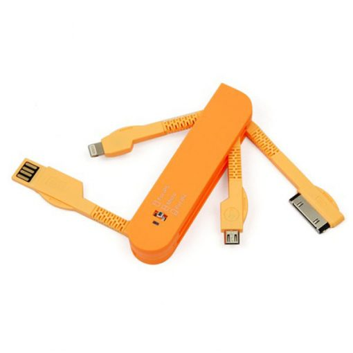 Multifunctional Charging Adaptors - Orange
