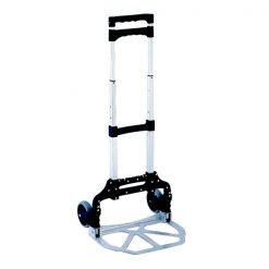 Foldable Steel Trolley - Gray