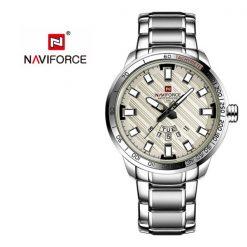 NAVIFORCE NF9090 Men Quartz Movement Watch - White