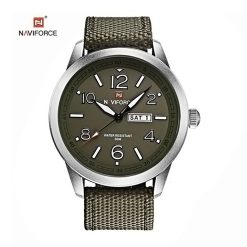 NAVIFORCE Luminous Calendar Display Men Quartz Watch - Green