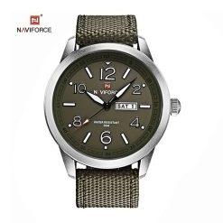 NAVIFORCE Luminous Calendar Display Men Quartz Watch - Green