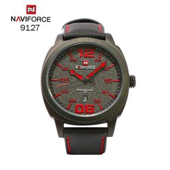 Navirforce 9127 Fashion Casual Waterproof Quartz Watch For Men - Red