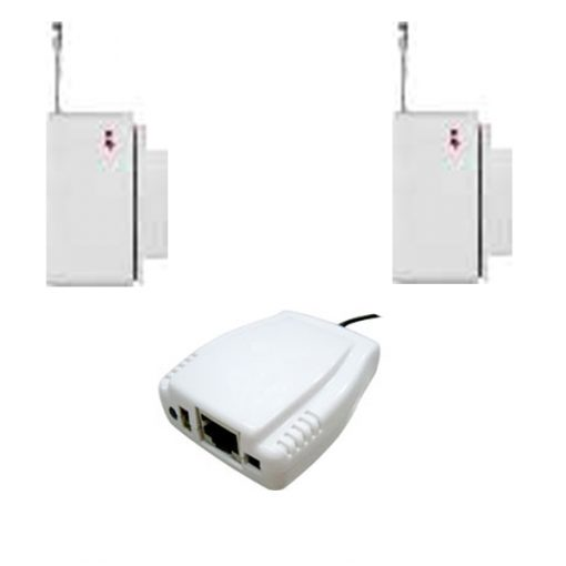 Netfeeler RS232 Intrface Mini Security Sensor - White
