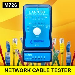 M726 LAN USB Line Network Cable Tester - Blue