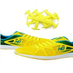 No Tie Silicone Shoelaces Size For Adult - Yellow