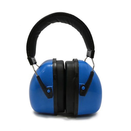 Noise Reduction Ear Muff Hearing Protection Headset - Blue