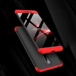 GKK Nokia 6 2018 360 Full Protection Case - Red