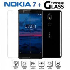 Nokia 7 Plus 2.5D Tempered Glass