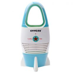 Non-Leaf Fan For Babies and Children - Blue
