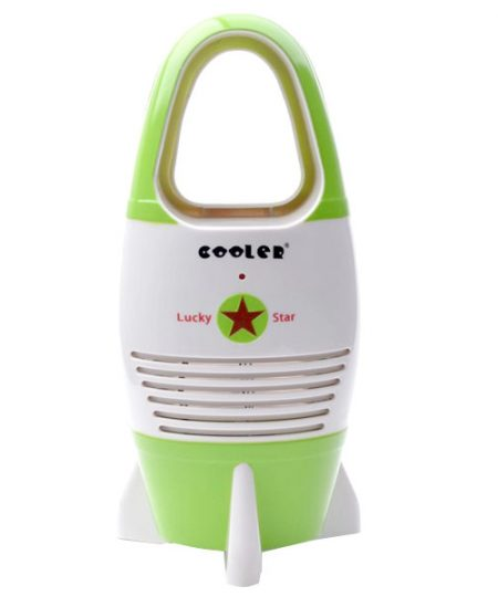 Non-Leaf Fan For Babies and Children - Green