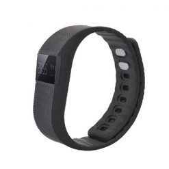 OLED Bluetooth Health Monitor Sports Bracelet - Black