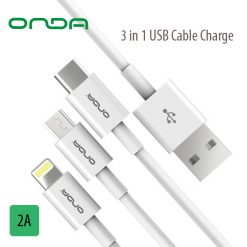 Onda XC13 3 in 1 Cable - White