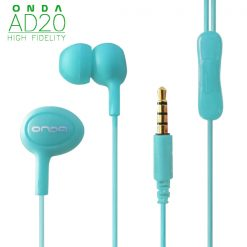 ONDA AD20 High-Fidelity Fashion Earphone - Blue