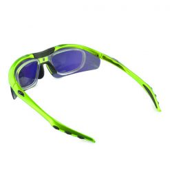 Polarize Sunglasses With 4 Interchangeable Colored Lens - Green