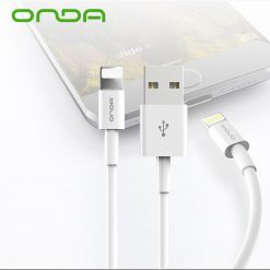 Onda XC04 1M Lightning Cable for iphone and ipad Charge and Data Transmission - White