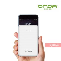 ONDA 10000 mah Q100T Slim Power Bank - White