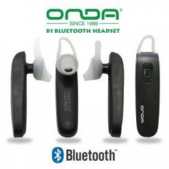 ONDA B1 In-Ear Bluetooth Headset - Black
