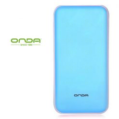 Onda N50T 5000 mah Dual Port Powerbank with Micro USB Charging Port - Blue