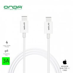 Onda XC18 Dual Type C Male Cable – White