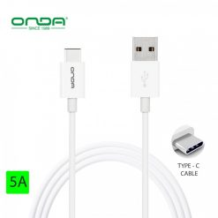 Onda XC19 Type C Data transfer and Charging Cable - White