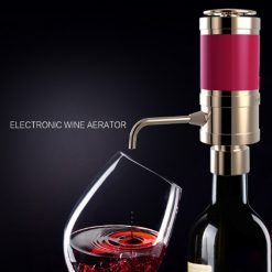 One Touch Electronic Wine Aerators - Gold
