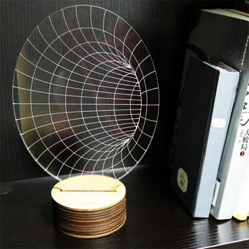 3D LED Light Optical Illusion Table Lamp