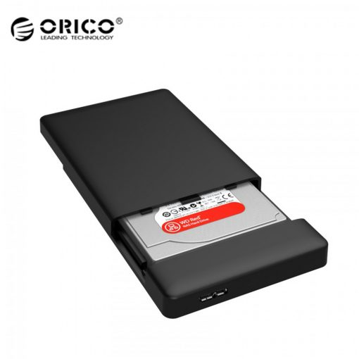 Orico 2.5 inch SATA USB 3.0 Hard Drive Enclosure – Black